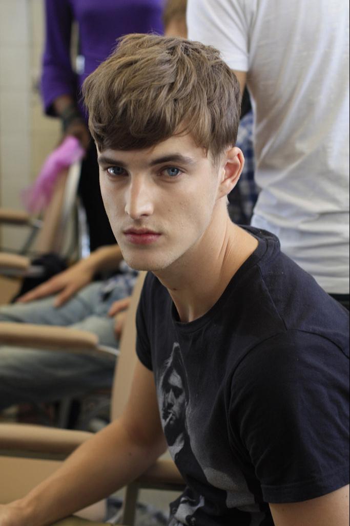 James Smith3486_SS12 Paris Kris Van Assche(Homme Model)