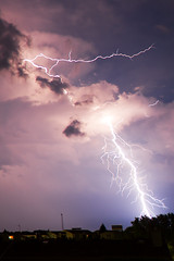 Thunderbolt over Schrding (foto.holic) Tags: flash lightning blitz thunderbolt schrding