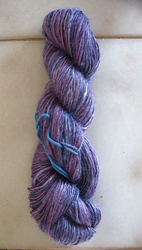spun finished silk