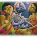 LORD KRISHNA PAINTING BY Dhananjay 2