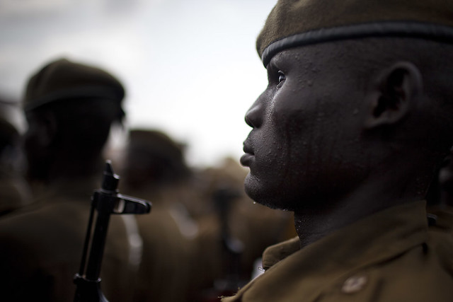 Soldier, South Sudan, by Conor Ashleigh