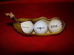 Got Golf Balls in my Banana!  -:- 7691 (buddhadog) Tags: red golf three banana bdw vogon golfballs bigmomma 3wins gamewin pregamewinner pregamewin