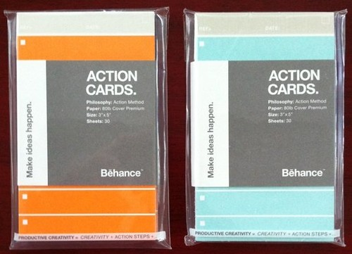 Behance Action Cards - Anyone try these yet?