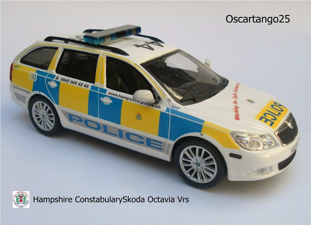 Hampshire Constabulary Skoda Octavia Vrs