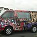 ... nosso carro, cozinha, hotel na Nova Zelandia