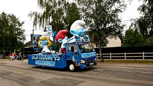 La caravane publicitaire du Tour de France 2011