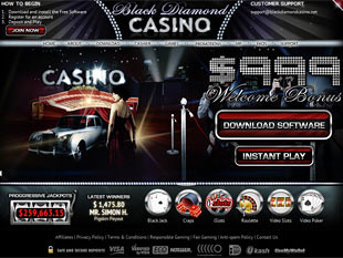 Black Diamond Casino Home