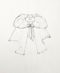 Study For Sarah (Kikihalb  Forest~Tales ) Tags: set dress study cape cloak blythe draft
