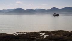 ferry to Arran (Joe Dunckley) Tags: uk sea mountains landscape boats islands scotland highlands argyll atlanticocean ferries arran