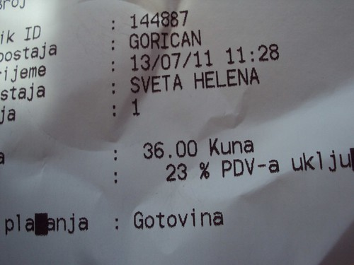 Budapest to Zagreb: 36 KUNA.