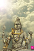 Shiva statue at Murudeswar Closeup A closeup of