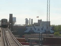 AOM (Billy Danze.) Tags: chicago graffiti roller aom