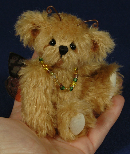 Baby Boo butterfly bear by Laura Lynn - Teddy Bear Artist
