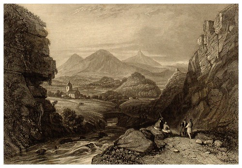 017-Vista de Inachus-La Grèce pittoresque et historique 1841- Christopher Wordsworth-© Biblioteca de la Universidad de Heidelberg