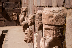 Tiwanaku (JohnMawer) Tags: tiwanaku archaeology bolivia history southamerica carving face
