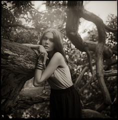 Alina VI (Andreas Ulvo) Tags: portrait film fashion analog mediumformat hasselblad analogue