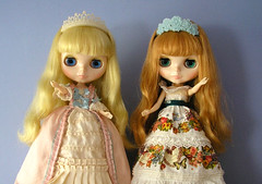 two princesses (twinkle_moon_bunny) Tags: happy hope 10 anniversary memories spell midnight ten blythe neo 10th limited edition cwc