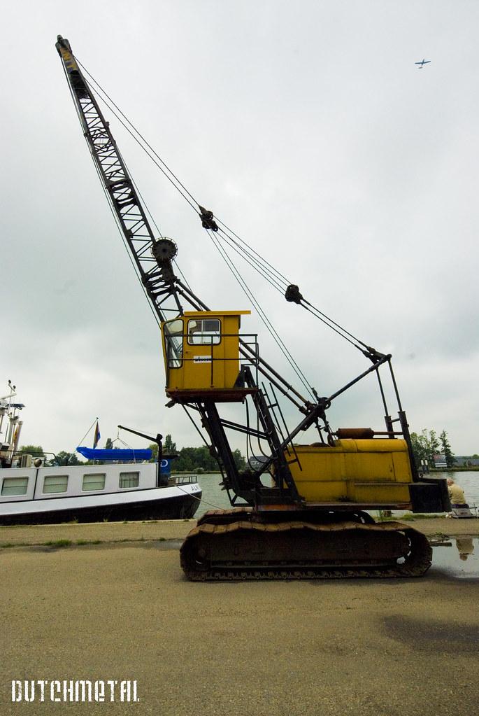 Unit - Daf small harbor crane