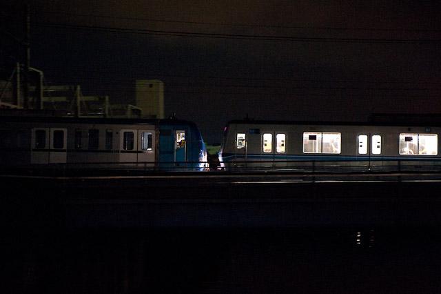 東京地下鉄15000系15113F搬入回送