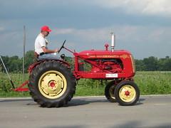 Cockshutt 20 Tractor (terryhadalittlelamb) Tags: show city ohio tractor miami steam parade valley oh 20 plain cockshutt