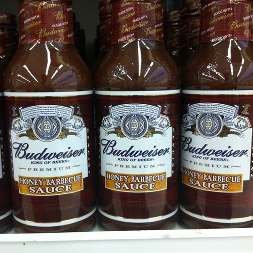 Wait, Bud makes BBQ sauce? WTF?