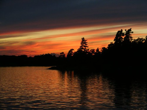 Thousand Islands sunset
