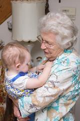 Necklace (Craig Dyni) Tags: baby girl greatgrandma madelyn alannah greatgranddaughter dyni