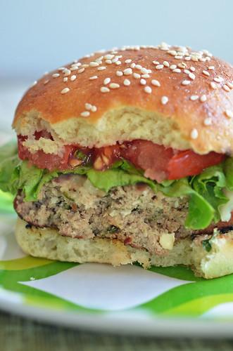 Almond Turkey Burger2