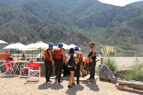 Rafting em Mendoza