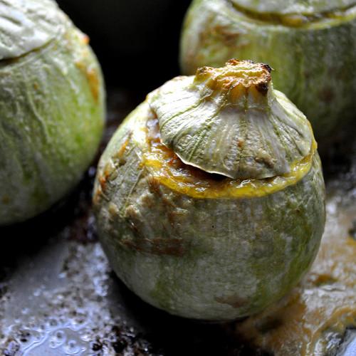 Stuffed Zucchini - Baked
