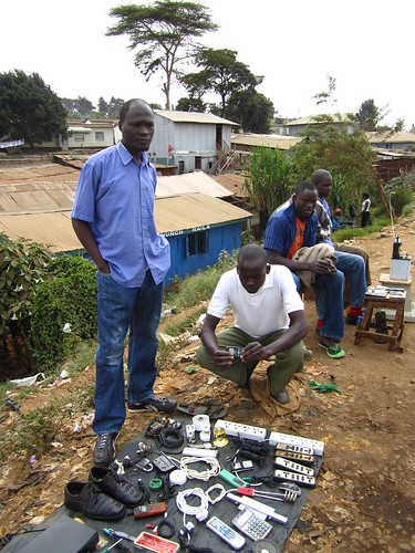 Kibera: Mobile Vendors