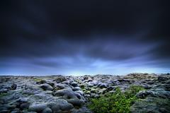 Icelandic Lava (inhiu) Tags: blue green nature grass landscape lava iceland nikon hdr burl d7000 inhiu