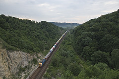 RO-LA in the canyon (szakipeti) Tags: trains 1000000trainsineurope