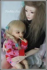 Kate and Lily (Pinktezka) Tags: lana mod 4 yo sd luv bjd fairyland usd photostory ante ltf yosd zaoll littlefee pinktezka