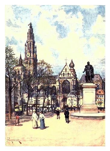 005-Antwerp la plaza verde-Belgium 1908- Amédée Forestier