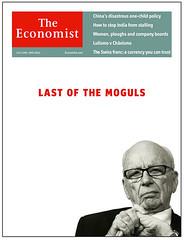 Economist Murdoch cover