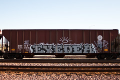 RIP Eyedea (bgn79) Tags: train graffiti peace oliver hart rest alb freight amfm impeach in benching eyedea