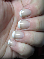 Nails Demand French Manicures - Result - by CucumPear
