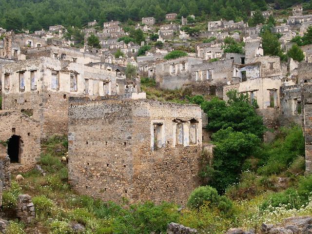 希臘村落廢墟