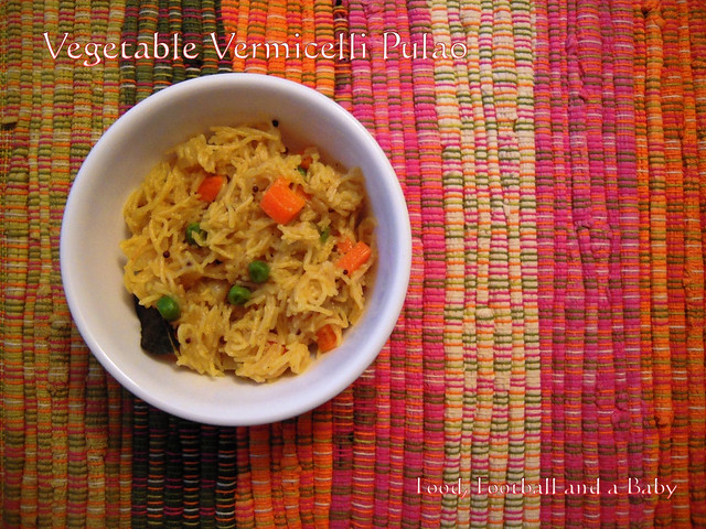 Vegetable Pulao 2