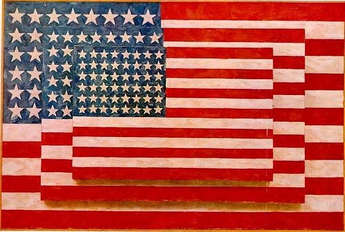 Jasper Johns - Three Flags [1958]