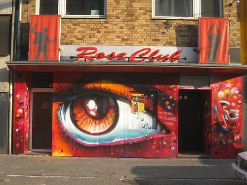Der Roseclub im SEAK Style gemalt bzw gesprüht