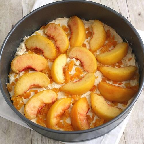 Rustic Peach Cake
