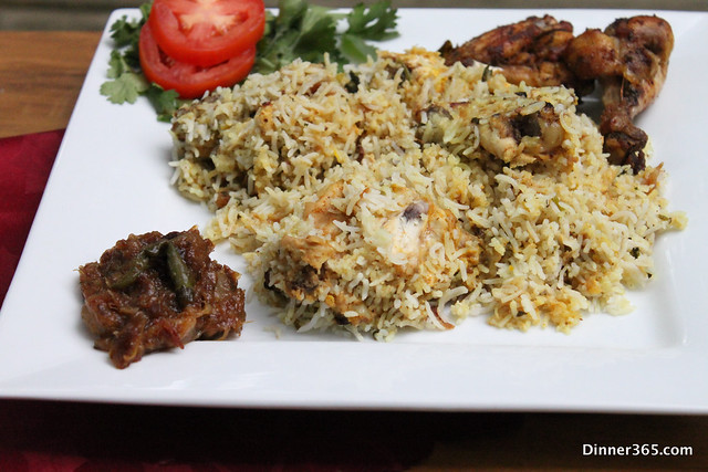 Day 205 - Chicken Dum Biryani