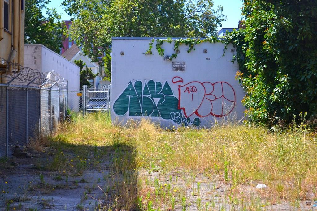 ALIKE, Graffiti, Oakland, Street Art