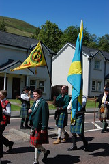 MacLaren flags - Lochearnhead Games 23 July, 2011