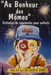 Affiche Festival Au Bonheur des Mômes-1993