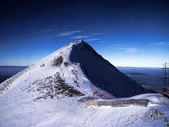 (LUPITACARRIZALES) Tags: blue winter sky snow luz azul switzerland europa europe suiza nieve cielo fujifilm invierno montain montaas mygearandme mygearandmepremium