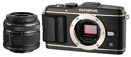 Olympus E-P3 14-42mm Lens Kit, priced at S$1,298.00 (incl GST).