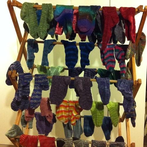 Sock laundry